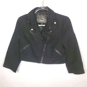 LAST KISS CROPPED JACKET size Large